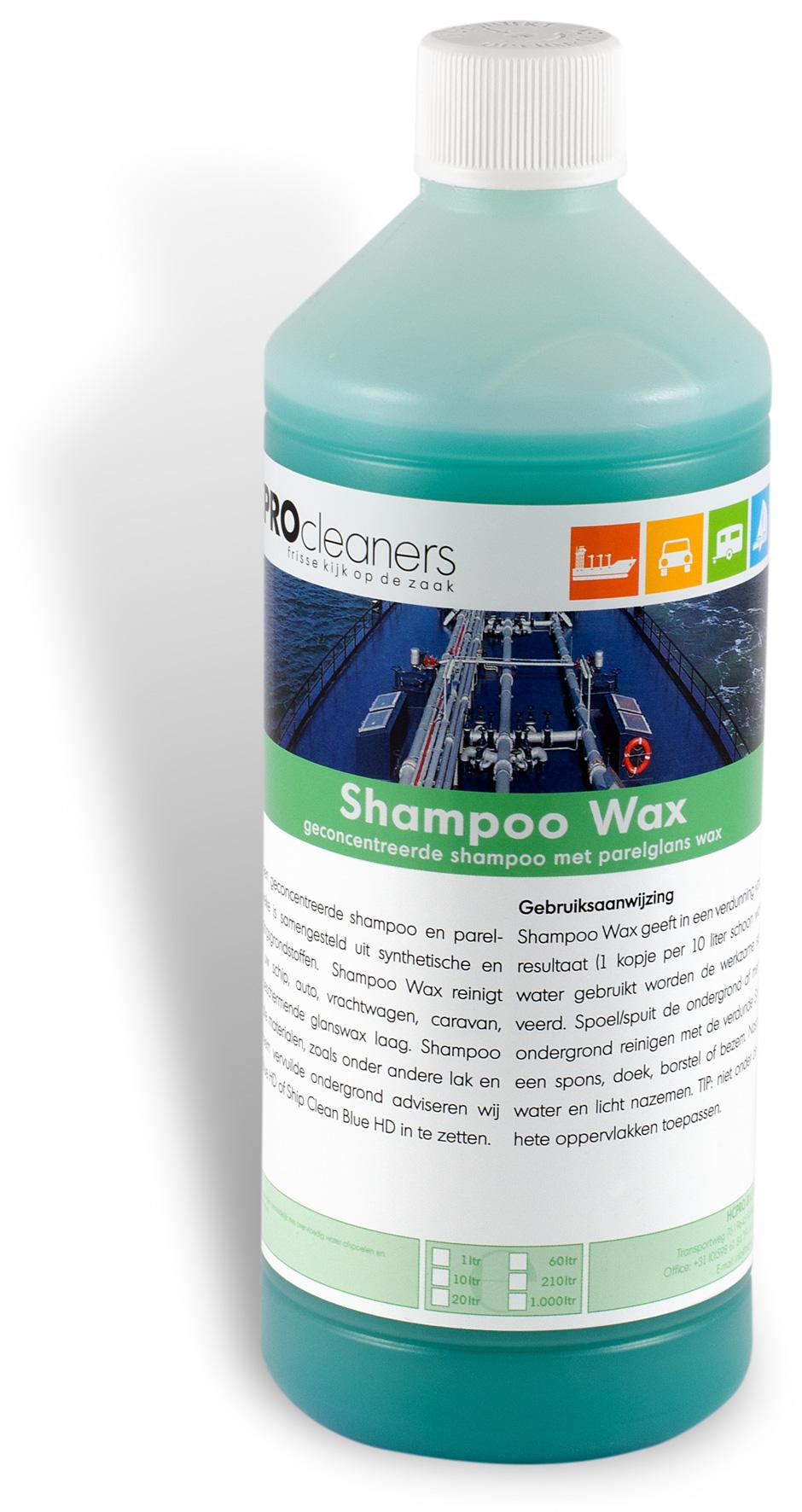 Shampoo Parelglans Wax